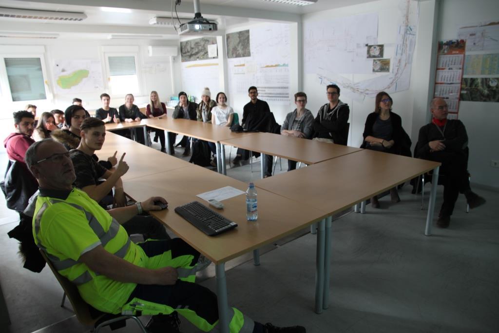 Lehrausgang Zur Baustelle Brenner Basistunnel Htl Bau