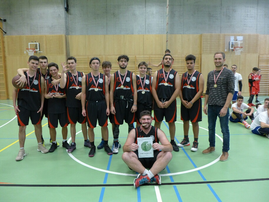 Basketballer Der Htl Bau Und Design Sind Tiroler Meister